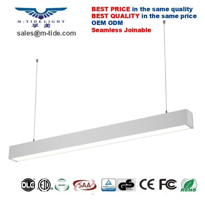 suspended linear light