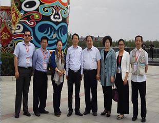 北京华商会部分会员参加2016丝博会暨第20届西洽会系列活动