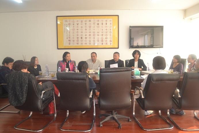 北京华商会举办书法艺术知识鉴赏沙龙