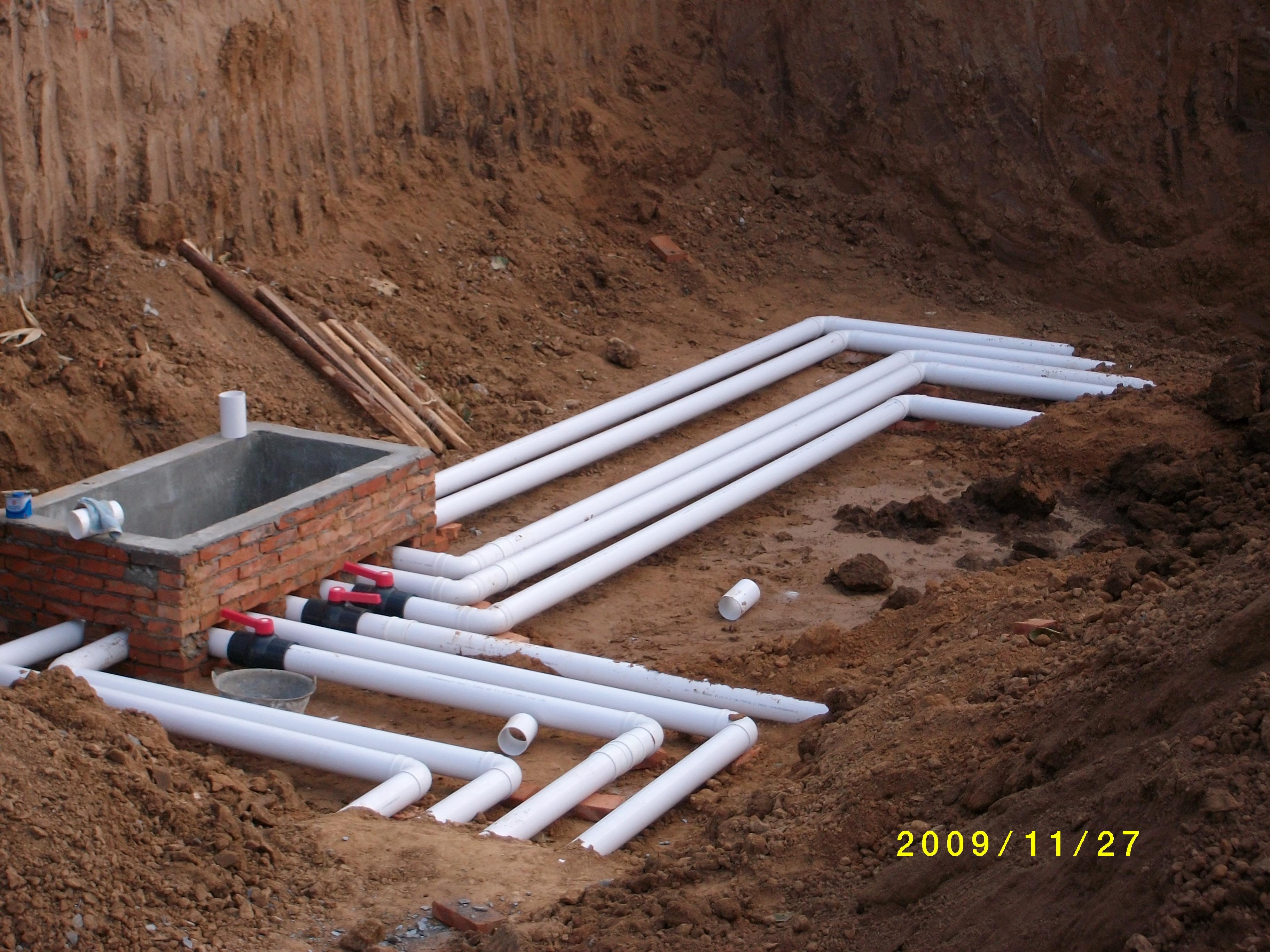 OWT分水系统施工照