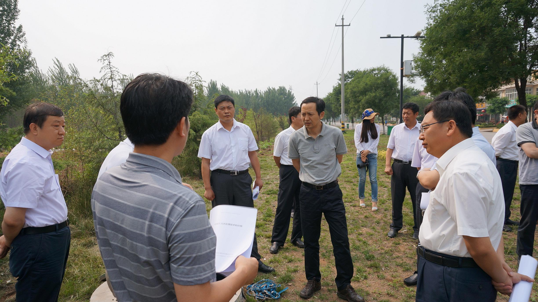 国务院农村综合整治办公室领导视察OWT污水处理工程