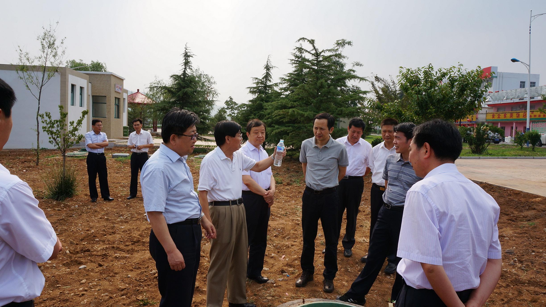 国家省市有关部门领导视察OWT出水质量
