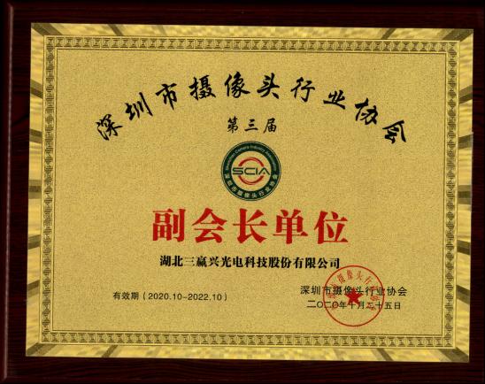 深圳市摄像头行业协会副会长单位