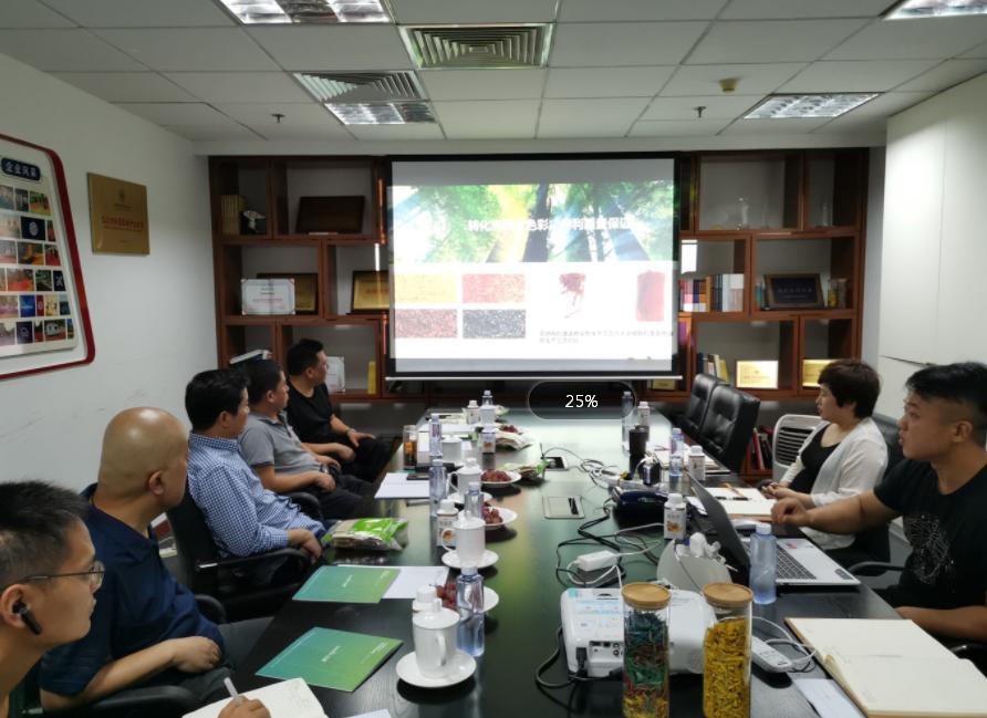 许昌市市政实业有限公司董事长考察动向国际科技股份有限公司