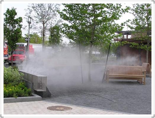 人造雾 | 绿化