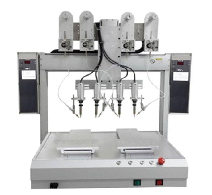 四头双Y自动焊锡机