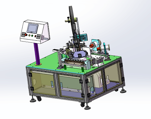 PCB板热缩套管机/火牛套管机