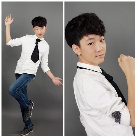 冯坤,一位出生自00后的阳光帅气男生,即擅长演绎经典抒情歌曲,又能将