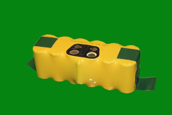 Robot using battery pack