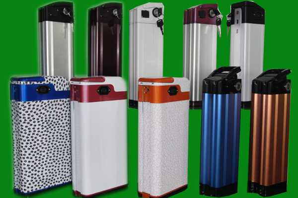 Electric bicycle lithium ion battery packs
