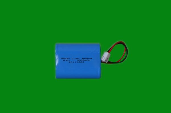 6.4V3.0AH 26650 磷酸铁锂电池组