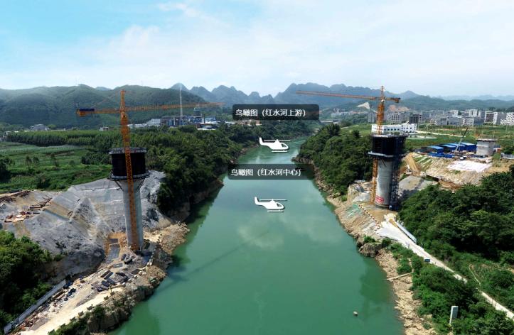 BIM技術推動中鐵二十一局貴南高鐵建設高能前進