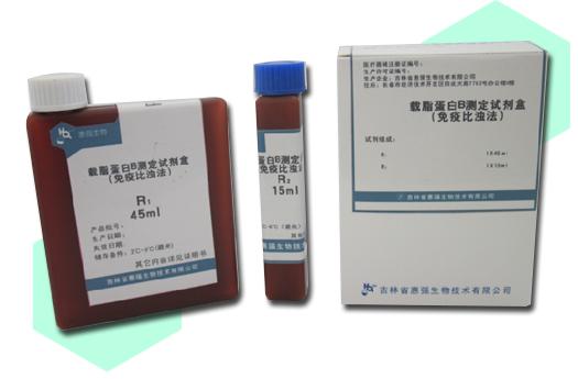 载脂蛋白B测定试剂盒