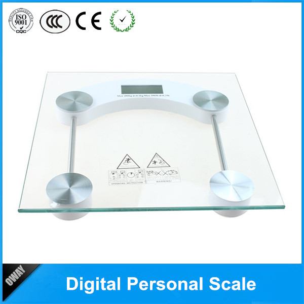 Picture of Digital glass body fat scale OW-P1