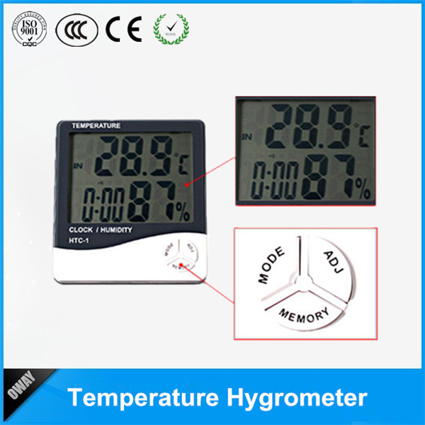 Picture of Hygrometer&thermometer OW-E1