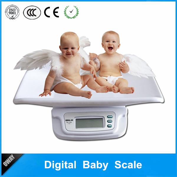 Picture of Best-sell Portable cheap price 20kg digital baby toddler scale OW-EB1