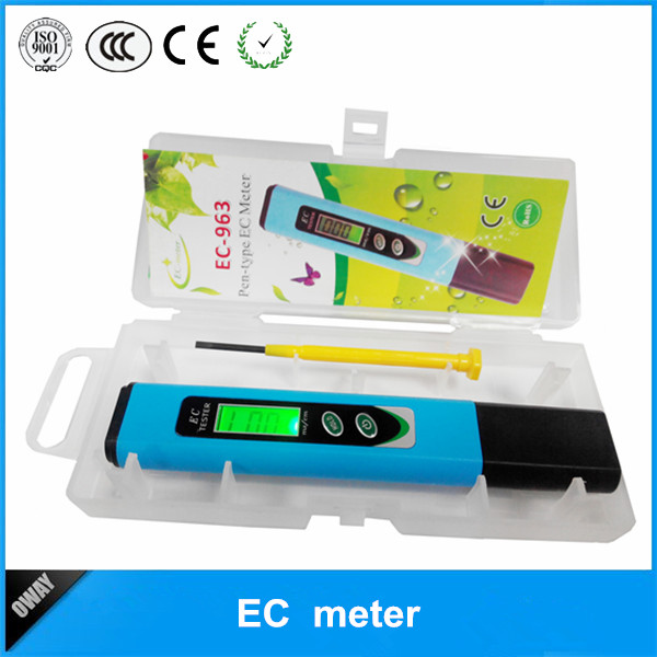 Picture of EC-963 Pen type  LCD backlihjt digital ec meter OW-EC963