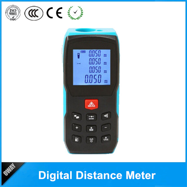 Picture of CE&ROHS certification Laser distance measurer high quality big digital LCD display distance meter OW-S2C