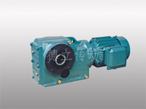 K系列斜齿轮锥齿轮减速电机