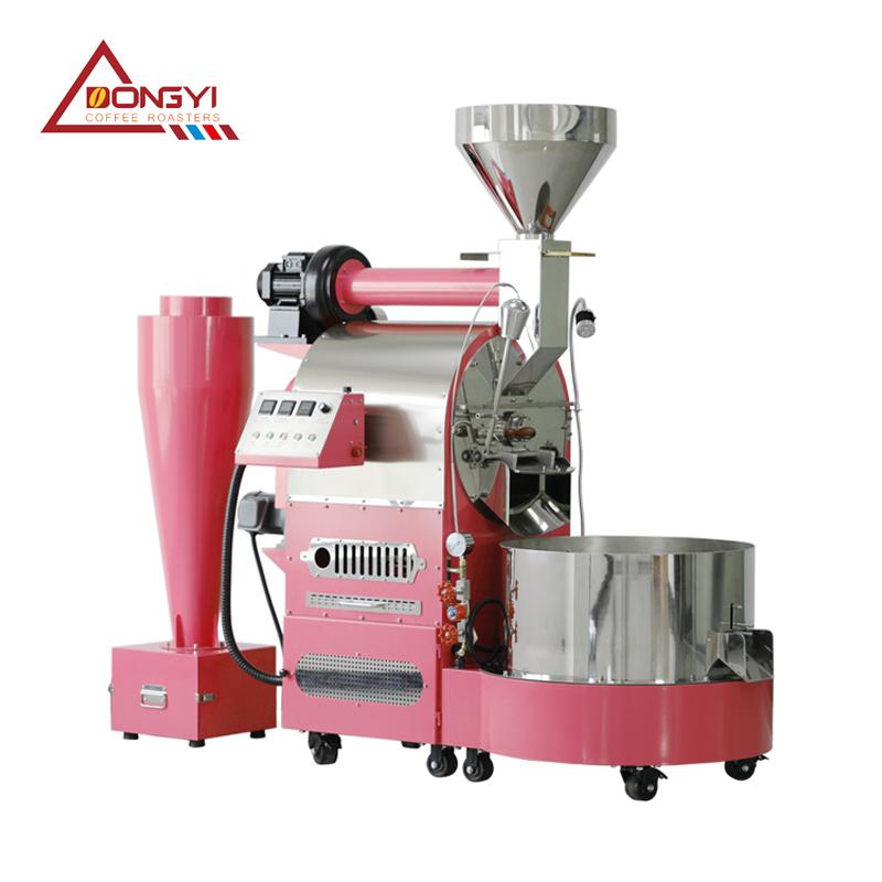 12KG商用咖啡烘焙机燃气款炒咖啡豆机器小型烘豆机