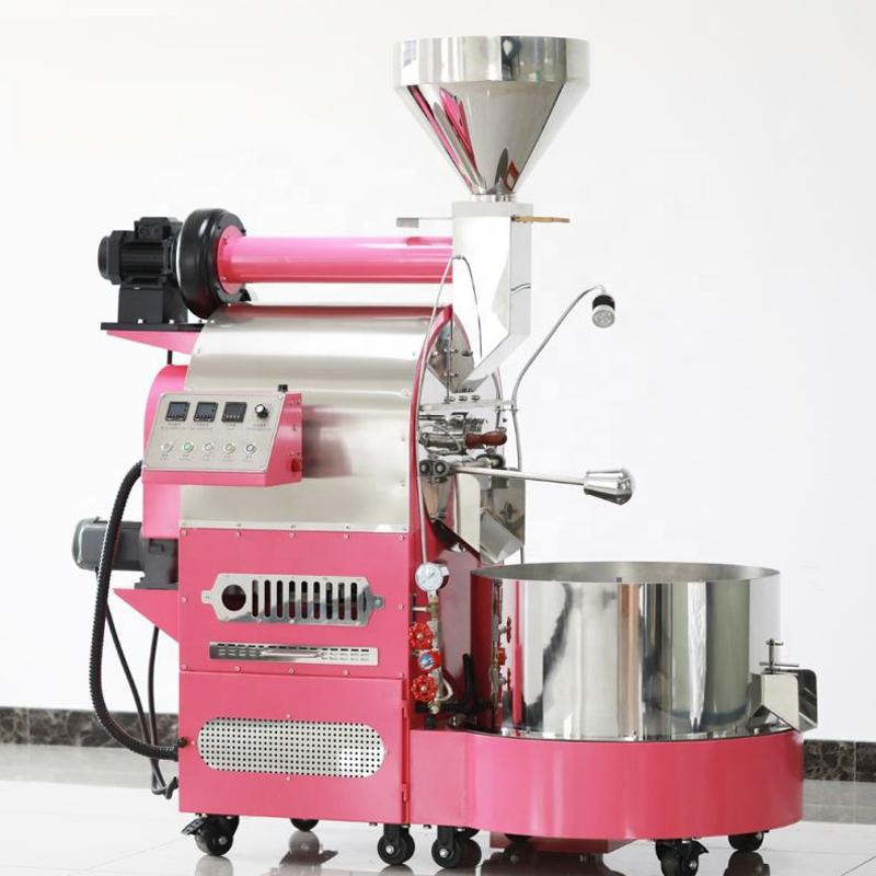20KG master中型咖啡烘焙机升级版PLC触摸屏控制全自动炒豆机工业级配置