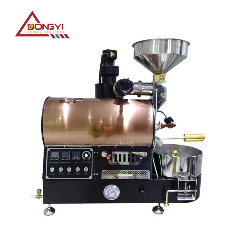 1KG精品咖啡烘焙机小型商用炒豆机咖啡馆专用  教学用机