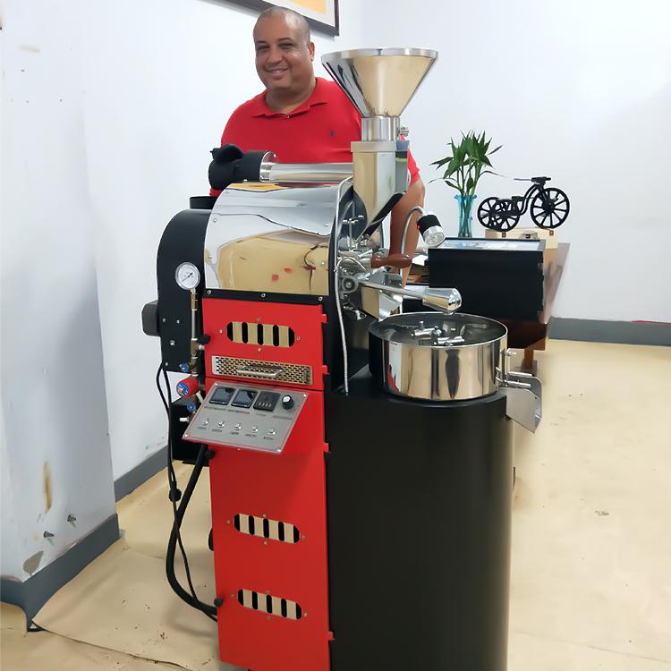 東億BR2.5KG 精品咖啡烘焙機 競賽級 Artisan藍牙電腦烘焙曲線