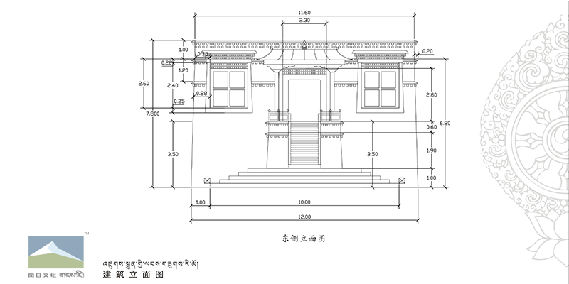 北京园博园拉萨展馆效果图制作