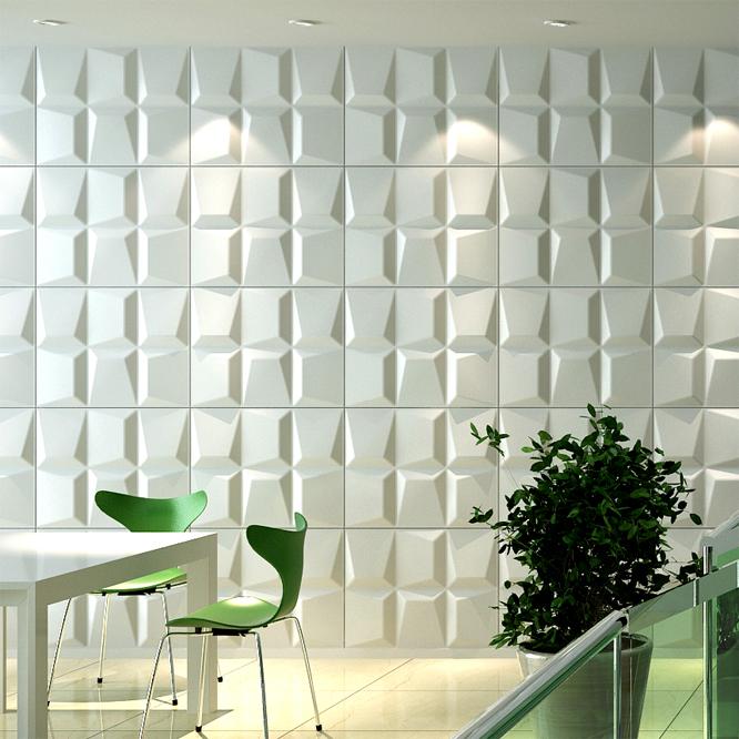 马赛克Mosaics三维板3D背景墙波浪板
