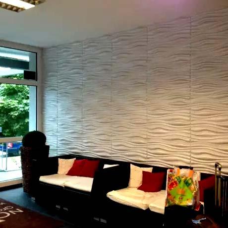 环保3D板酷墙三递板波浪板