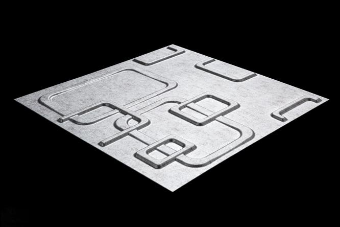G2彩板3D波浪板|奥琳娜
