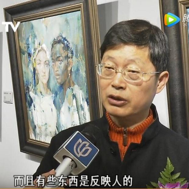 上海电视台:少数民族新锐画家作品展(2017-12)