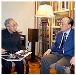 中国美术家协会主席靳尚谊题写贺词