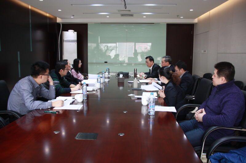 朝阳国家文创实验区管委会领导到访我司考察调研