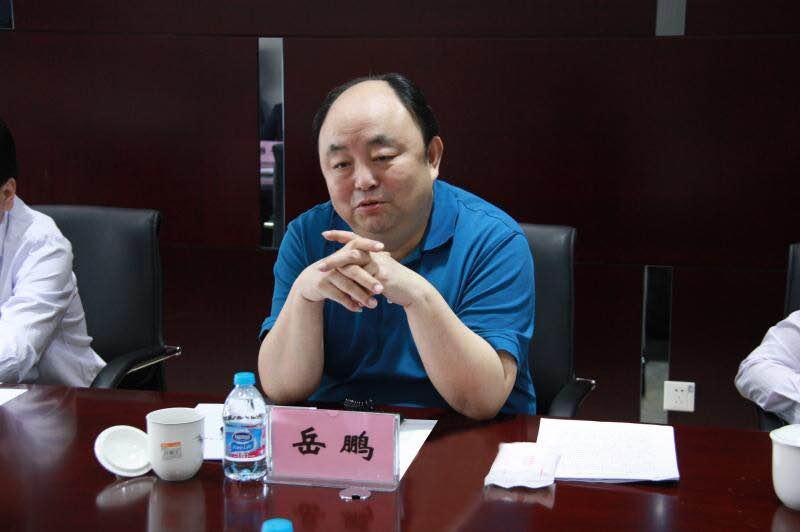 国资公司岳鹏董事长一行到再担保公司调研