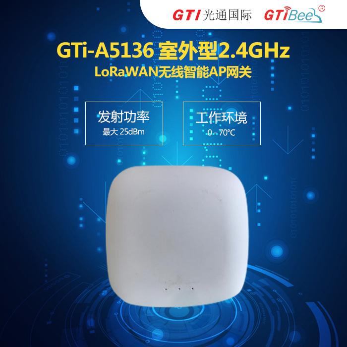 室内型商业级LoRaWAN无线智能AP网关基站GTi-A5136