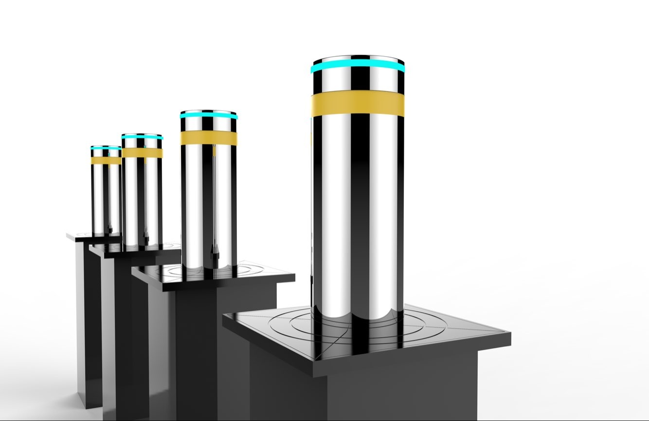 自动升降柱电动路桩路障