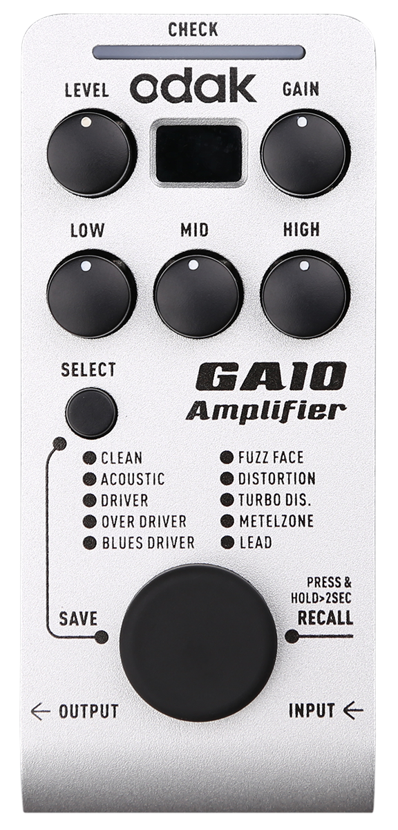 GA10 放大类单踏多效果器