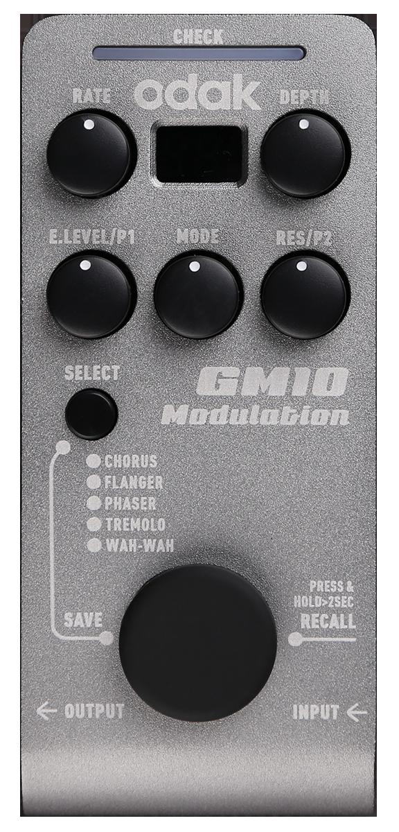 GM10 调制类单踏多效果器
