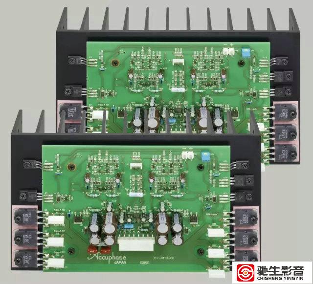 功率放大部份采用金嗓子最引以自豪的原创电路架构,mcs(multiple