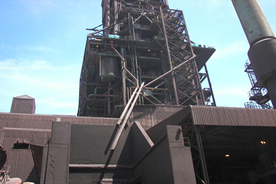 豎爐煙氣石灰石膏法脫硫