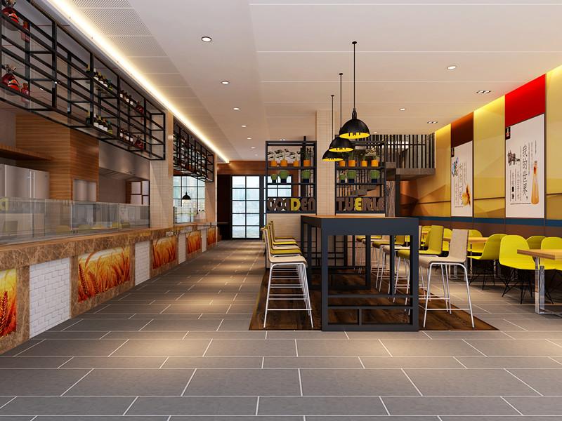 快餐店设计与装修