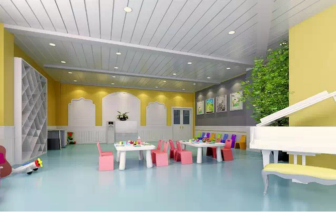 机构空间:蒙氏幼儿园设计装修