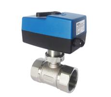 DN32-50二/三通开关量/模拟量不锈钢电动调节球阀
