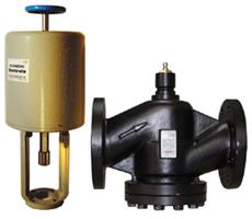 DN200-500法兰铸钢电动调节阀