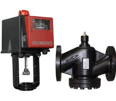 DN25-150法兰铸钢蒸汽/高温蒸汽电动调节阀