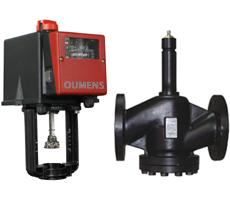 DN25-400法兰铸钢超高温蒸汽电动调节阀