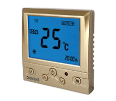 MSTC3金黄色银色黑色风机盘管温控器(定制颜色)