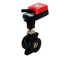 DN65-150二通开关量/模拟量法兰电动调节球阀(V型整流蝶)