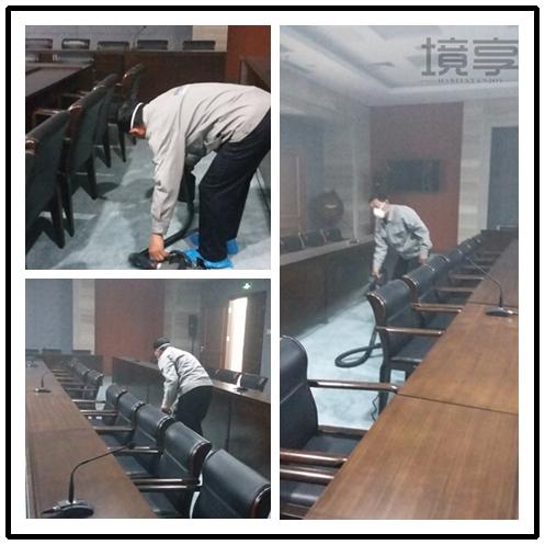 政府办公楼会议厅室内空气治理施工